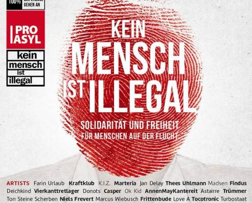 Pro Asyl - Cover Sampler Kein Mensch ist illegal