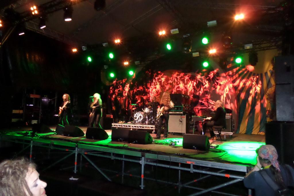 Fantastische BLUES PILLS live auf dem Burg Herzberg Festival 2016