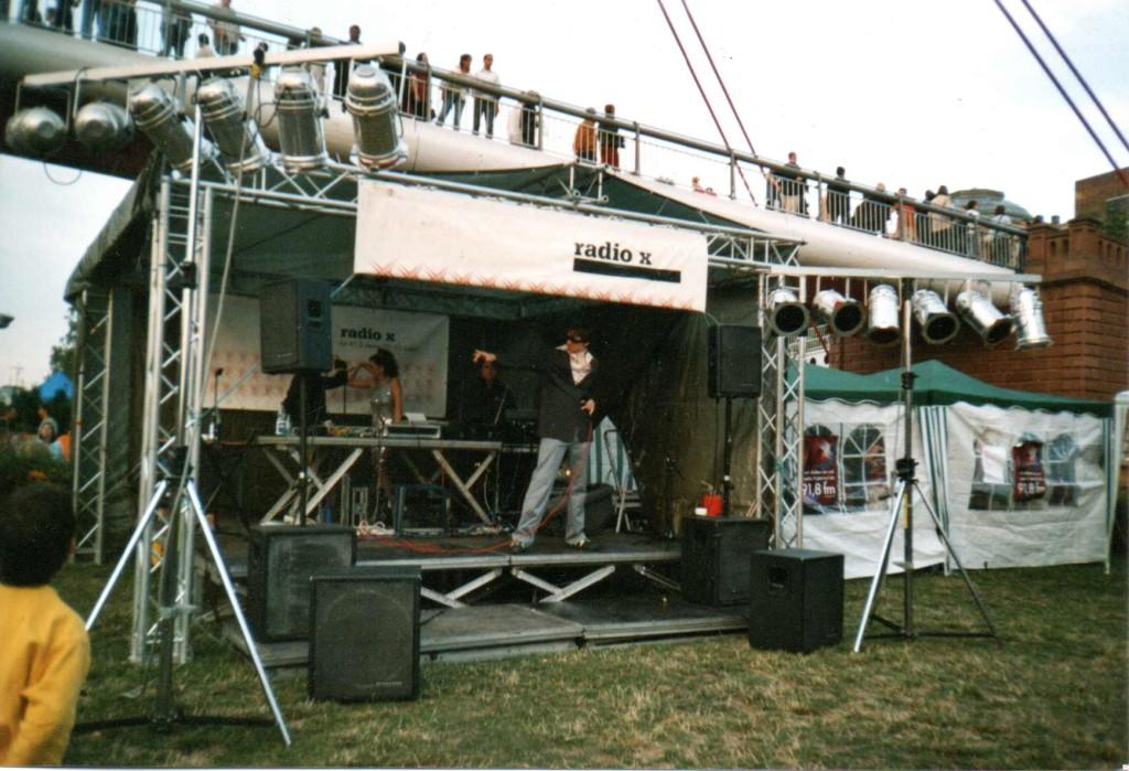 Und so sah unsere Bühne vor ca. 10 Jahren aus ...