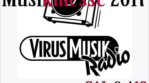 VirusMusikRadio live auf der Internationalen Musikmesse 2017.