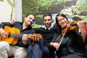 Bridges-Musik verbindet, Impressionen vor dem Auftritt