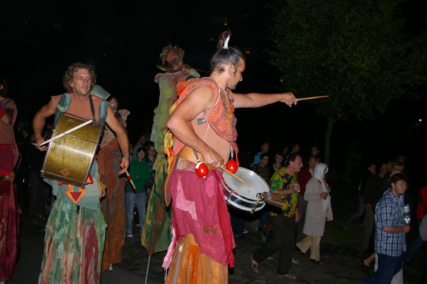 Das Programm im Beduinenzelt  auf der Sommerwerft 2017.