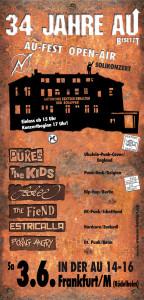 AU - Open-Air: Punk vom Feinsten @ In der Au 14 - 16   Frankfurt am Main   Hessen   Deutschland