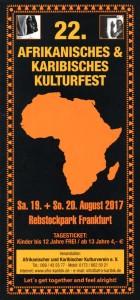 22. Afrikanisches & Karibisches Kulturfest am Rebstock @ Rebstockpark | Frankfurt am Main | Hessen | Deutschland