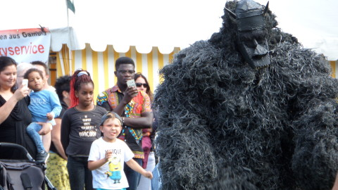 Hörnerv # 256 : 22. Afro-Karibisches Kulturfest am Rebstock (SA + SO – 19. u. 20.08.2017)