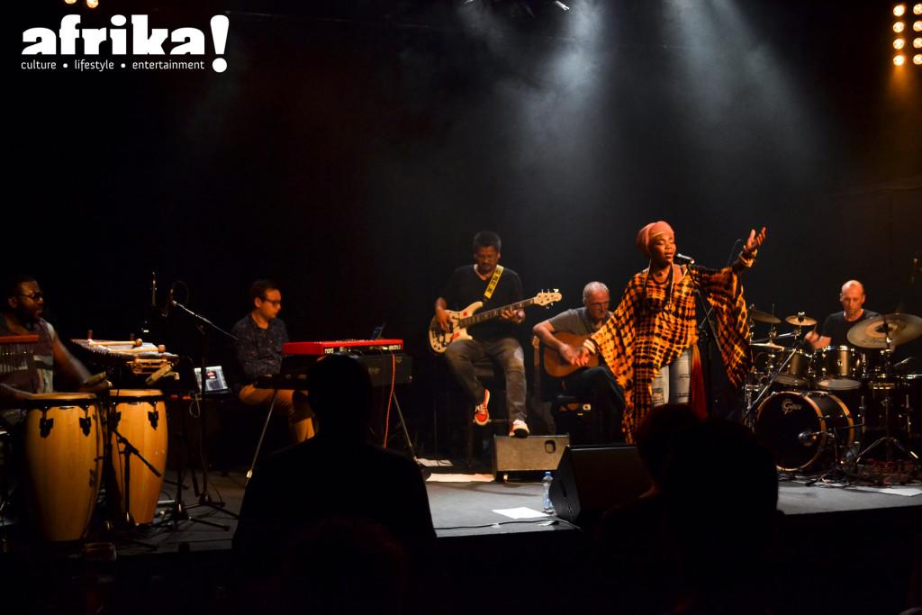 Yvonne Mwale - Band