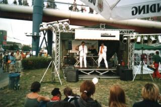 Die radio x Bühne zum MUF von anno dazumal