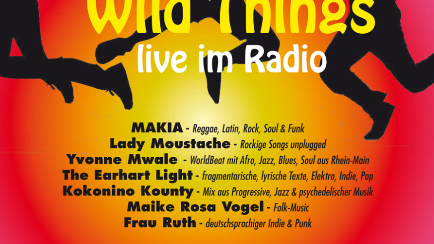 - wild things live im radio – Die VirusMusikRadio Show 2017