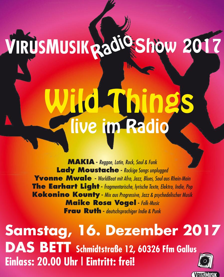 Die VirusMusikRadio Show 2017!