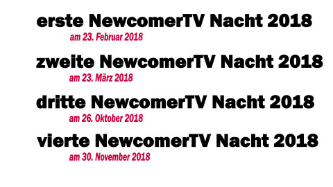 Mit NewcomerTV & VirusMusikRadio ins Fernsehen!