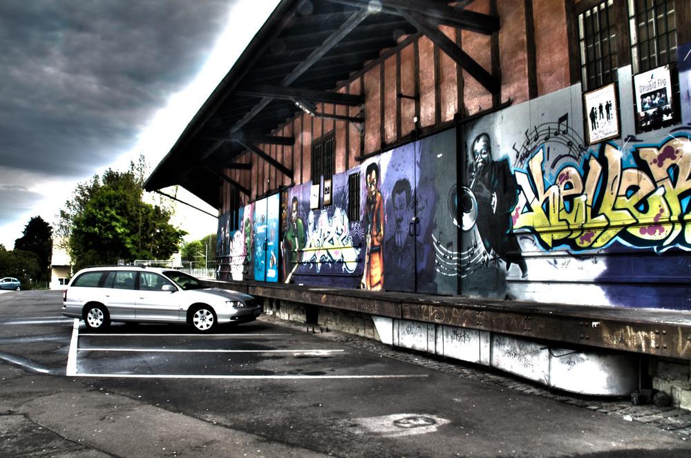 Jazzkeller Hofheim - direkt an der S-Bahn Station und locker zu erreichen.