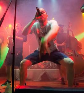 Alex & Revolte Tanzbein als Abräumer auf dem Museumsuferfest 2018
