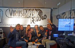 VirusMusikRadio live von der Internationalen Musikmesse 2018