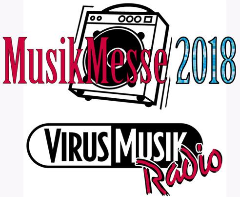 VirusMusikRadio sendet Live-Radio von der Internationalen Musikmesse 2018.