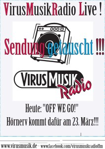 OFF WE GO! - Sendungswichteln mit VirusMusikRadio -