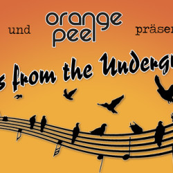 NOTES FROM THE UNDERGROUND  live am 11.04. mit Revolte Tanzbein, Tongärtner, Orange Mind, Bernhard Faltermeier & Arup Sen Gupta
