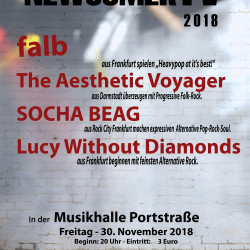 Die vierte NewcomerTV Nacht, am 30.November 2018.