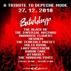 A Tribute to Depeche Mode in der Batschkapp zu Frankfurt Main!