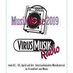 Das VirusMusikRadio sendet live von der Internationalen Frankfurter Musikmesse 2019.
