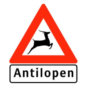 Antilopen schild