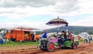 Ausserirdische und innovative Fahrzeuge auf dem Burg Herzberg Festival