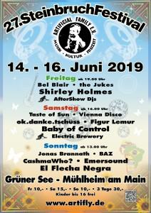 Steinbruchfestival - Plakat