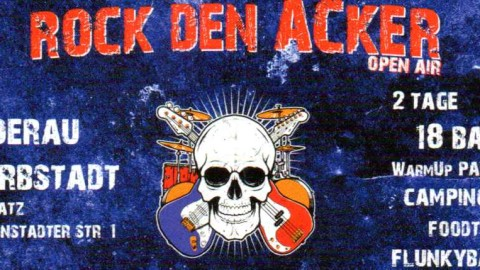"Hörnerv # 297 Open Air Festival ""Rock den Acker"" 17. + 18. Mai in Nidderau (bei Friedberg)"