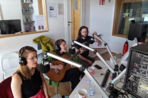 SALMA live im Hörnerv (v.l.n.r.: Lisa, Salma, Lennard)